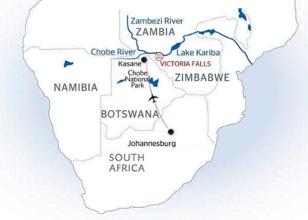 Zambezi River On Map Of Africa Jungle Maps: Map Of Africa Zambezi River